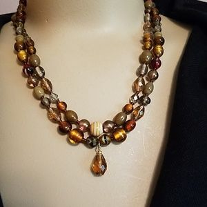 Talbots double strand beads